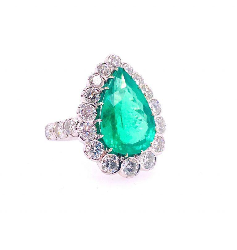 Edelstein Ankauf - Smaragd Ring
