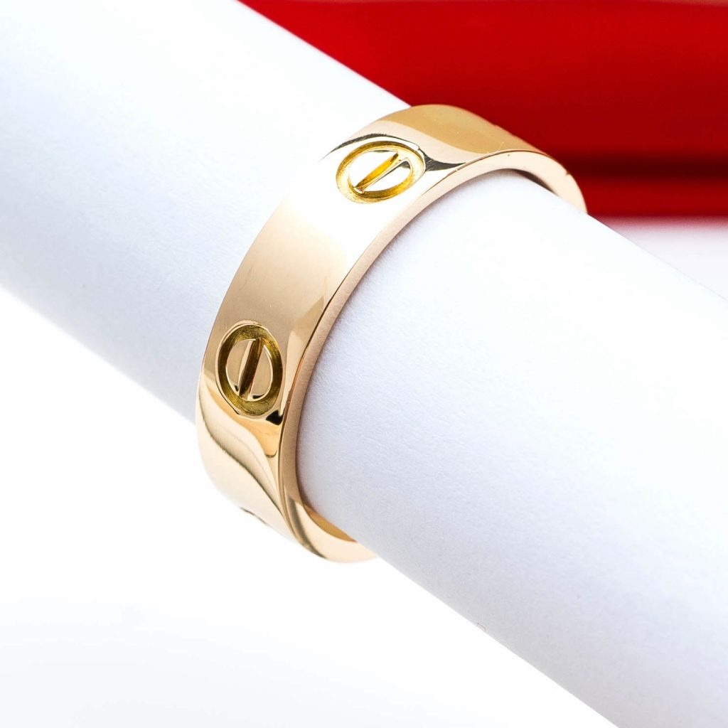 Cartier Love ring verkaufen